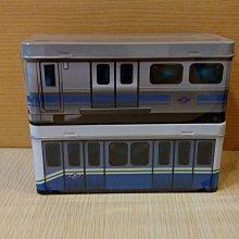 台北捷運中運量370型電聯車造型小鐵盒/馬口鐵盒/置物盒/掀蓋鐵盒