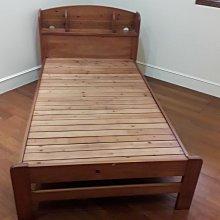 二手傢俱推薦【樂居二手家具館】B0105BJJB 3.5尺組合床架 中古床組 床底 床墊 床頭櫃 床架 台北新竹桃園苗栗