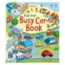 *小貝比的家*PULL-BACK BUSY CAR BOOK /硬頁