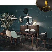 訂製家具 MF-TD-68 復刻设计师現代木紋染漆長方形餐桌、訂制餐桌《 免費諮詢空間整體配置設計、專屬客制傢俱》