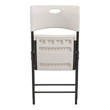 美兒小舖COSTCO好市多線上代購~Lifetime 塑膠折疊椅/會議椅/辦公椅(1組2入)