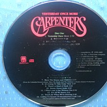 [無殼光碟]ES  Carpenters Yesterday Once More CD1 + CD2