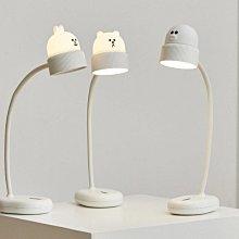 【衝評價~】LINE FRIENDS 攜帶式檯燈(USB) 熊大 兔兔 充電式 全新 未拆