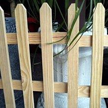 【路卡傢飾~園藝造景】 花園南方松地插籬笆 (大組)  柵欄 竹籬笆 裝飾品、圍籬