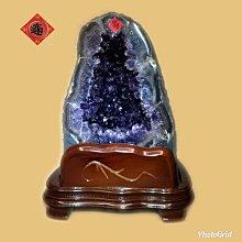 🏆【168 精品】🏆烏拉圭Esp 收藏級直立式紫晶洞,重-9.1kg、寬-18cm、高-30cm、洞深-6cm