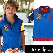 特價899真品 Polo Ralph Lauren大馬數字3網眼短袖多色POLO衫小兒童2T號3歲也適合愛Coach包包