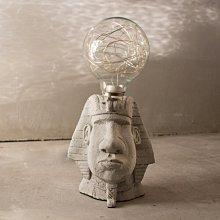 曙MUSE|埃及 法老 摩埃造型USB 可調光 咖啡廳 民宿 餐廳 住家 工業 文青 手作 原創 擺飾  桌燈