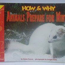 【月界】How and Why Animals Prepare for Winter_Pascoe〖少年童書〗CER