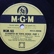 《紐約第十號街慘案》78轉 10吋 蟲膠唱片 電木唱片