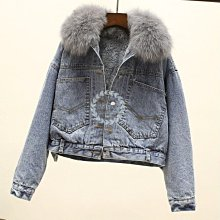 【2A Two】KOREA 大毛領短版牛仔外套『BA0147』🔸增加尺寸 XS~XL