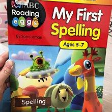 全新  my first spelling 5~7歲 小朋友 英文學習書 ABC EEE