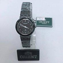 可議價 ORIENT東方錶 女 黑面時尚 石英腕錶 (HM5BX41) 24mm