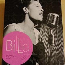 (絕版,法國環球唱片獨家企劃)比莉哈樂黛Billie Holiday生涯大全集15CD套裝The Complete Masters 1933-1959