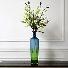 〖洋碼頭〗歐式簡約玻璃花瓶創意透明人造水晶插花玻璃餐桌客廳裝飾花幹花器 hbs383