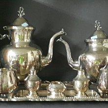 436高檔英國鍍銀壺組 Vintage Silverplate Ornate teapots (皇家貴族精品)