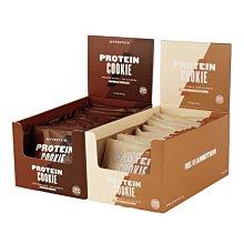 【英國Myprotein】高蛋白曲奇餅乾 12入/盒裝 (雙倍巧克力脆片/白巧克力杏仁)