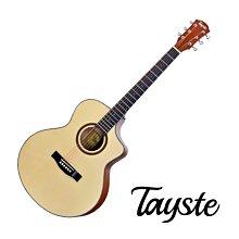 Tayste TS-21-40 雲杉面板 沙比利背側 合板 40吋 民謠吉他 - 【他,在旅行】