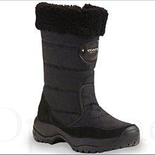 真品現貨 Coach Shoes 黑色C 織布中長筒長靴 馬靴 雪靴 中靴 6.5號 23.5號免運費 韓國日本賞雪保暖