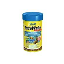魚樂世界水族專賣店# 德國 TetraWafer Mini Mix 觀賞蝦底棲魚飼料 100ml