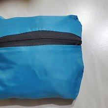 藍色  深灰色  摺疊購物袋  尺寸 16 X14         攤開尺寸  45 X38X17