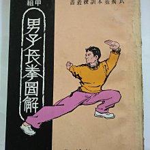 [文福書坊] 甲組男子長拳圖解-鍾國強編著-民國63年初版-台南北一出版社-無註記、6成新