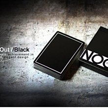【USPCC 撲克】BLACK NOC Out Deck