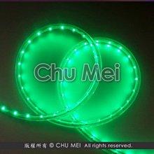 110V-綠光LED二線3528水管燈50米 - led 燈條 非霓虹 彩虹管 聖誕燈 水管燈 條燈 軟條燈 圓二線