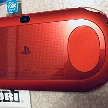 全台僅有.絕版.僅此一台.特殊紅色PSV 2000主機+硬殼+香菇頭+新螢幕玻璃貼+初音掛繩+可改機3.65版本9成新