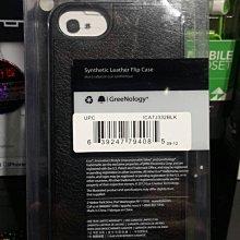 平廣 蘋果 APPLE iLuv Envelop iPhone SE 5 5S S 黑色 皮套 翻轉 手機皮套 手機殼