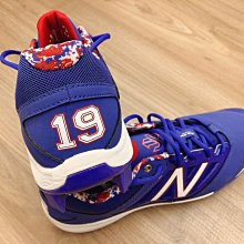 José Bautista ~ 美國MLB職棒多倫多藍鳥隊超級巨星全壘打王極稀少實戰用 New Blance 釘鞋 ~ 先前購於美國eBay