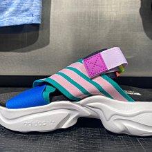 【豬豬老闆】ADIDAS MAGMUR 拖鞋 涼鞋 休閒 運動 女款 黑 EF5863 綠 EF5864