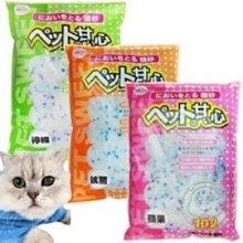 【🐱🐶培菓寵物48H出貨🐰🐹】寵物甜心》貓用水晶貓砂10L*1包 特價238元(限宅配)