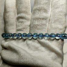 冰種海藍寶手鏈