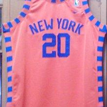 NIKE NBA Allan Houston 紐約 尼克 復古 球衣 洞洞