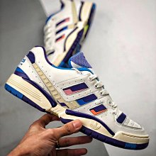 Adidas Torsion Edberg Comp 白藍 炫彩 抗扭 復古 潮流 慢跑鞋 EF7756 男女鞋