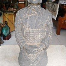 陶製兵馬俑擺飾(高37.5cm重約2kg)