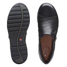 【英國代購】⑤ Clarks Un Adorn Loop Black Leather 售價4580元