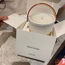 香薰 蠟燭LV路易威登Louis Vuitton香氛香薰蠟燭220g 玫瑰茉莉花廣藿香圓形