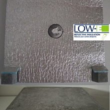水泥屋頂隔熱_最佳隔熱材料/環保綠建材_美國Low-E節能鋁隔墊+五腳磚、DIY建材