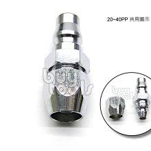 BuyTools-Quick Fitting 空壓機氣動工具快速接頭 40PP 8*12mm PU管用,台灣製造「含稅」