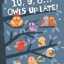全新 現貨 10, 9, 8 ... Owls Up Late! 平裝版 數數書