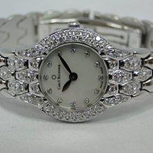 (板信當舖流當品)Carl F. Bucherer 寶齊萊 18K金  女錶 9成5新 直購價110000元 PR390