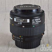 【品光數位】Nikon AF 35-70mm F3.3-4.5 #104733