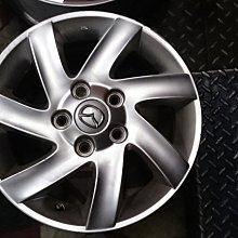 ~三重長鑫車業~中古 正 馬自達 原廠 MAZDA3 5孔 114.3 15吋 鋁圈 搭配中古胎或新胎購買另有優惠