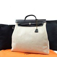 Hermès Herbag MM 2way (黑色)
