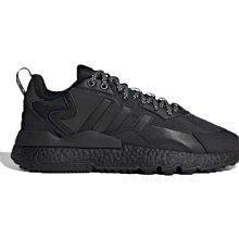 Adidas NITE JOGGER 經典 復古 低幫 耐磨 百搭 黑色 休閒 運動 慢跑鞋 FZ3661 男女鞋