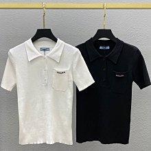 PRADA新款冰絲針織衫,柔軟舒適自在有質感,高彈性,版型效果非常好看,黑色白色粉色