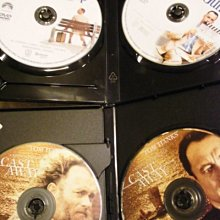 Forrest Gump阿甘正傳Cast Away浩劫重生 湯姆漢克Tom Hanks 勞伯辛密克斯(回到未來)4DVD