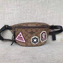 COACH 88013 星球大戰系列新款徽章腰包 胸包 男女通用