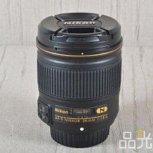 【品光數位】Nikon AF-S 28mm F1.8 G N 大光圈 廣角 定焦 #52989A